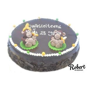jubileum aapjes taart