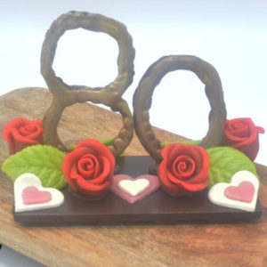 jubileum chocolade ornament